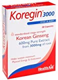 HealthAid Korean ginseng 600 mg 30 capsules Amazon