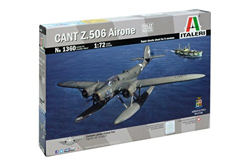 "Italeri 1360 - Cant Z 506 Airone ""Historic Upgrade"" Model Kit  Scala 1:72"