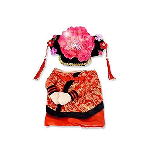 Kostüm für Hunde und Katzen, chinesischer Kaiser, S, 1# ()