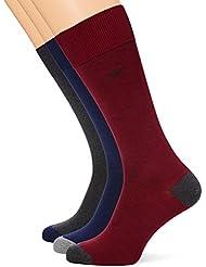 HACKETT Logo 3PK Simple Socks, Calcetines Para Hombre