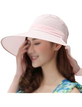 LAMEIDA Gorro de visera Sombrero de lona Sombrero de playa Sombrero plegable Ajustador para mujeres Ciclismo Sombrero...