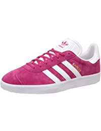 Zapatillass GAZELLE bold pink/white/gold met 16/17 Adidas Originals