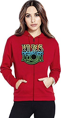 Kings Of Leon Womens Zipper Hoodie
