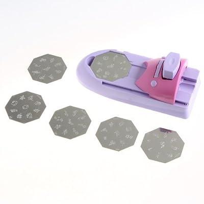 dodocool Nail Art DIY Pattern Printing Manicure Machine Stamp Stamper Tool Set