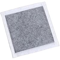"""SCENTOUT humanos Scent Eliminación almohadillas de carbono: 12 (4 """"x4"""") neutralizador de olor almohadillas con tiras adhesivas"""