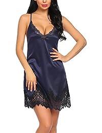 promo code 266db eef40 Suchergebnis auf Amazon.de für: spitzen nachthemd: Bekleidung
