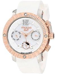 Mulco Unisex MW5-1622-013 Nuit Lace cron—grafo Swiss MoveCaballerot Reloj