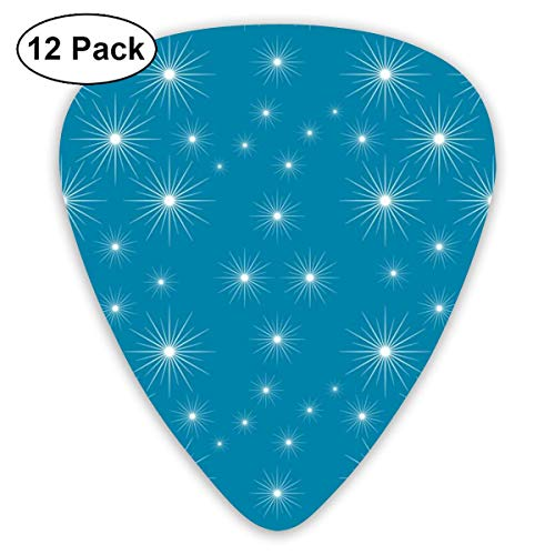 Twinkle, Twinkle Classic Celluloid Picks, 12-Pack, For Electric Guitar, Acoustic Guitar, Mandolin, And Bass -