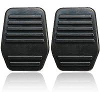 Togames-ES Un par de Cojines Pedal del Embrague Cubierta de Goma para Ford Transit