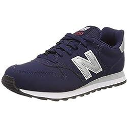 New Balance Gw500v1, Zapatillas de Deporte para Mujer, Azul (Navy/Pink/Silver Nbp), 37 EU