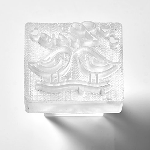 Love Birds Soap Stamp (Pack of 5)