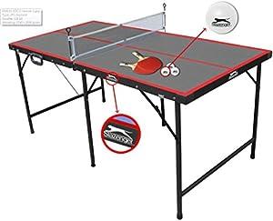 Slazenger Children's 5ft Indoor Folding Table Tennis Table Review 2018 from Slazenger