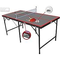 Slazenger - Mesa de ping-pong plegable, 1,5 m