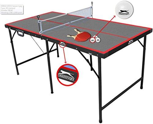 Slazenger - Mesa de ping-pong plegable
