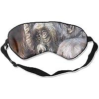 Sleep Eye Mask Oil Chimpanzee Lightweight Soft Blindfold Adjustable Head Strap Eyeshade Travel Eyepatch E14 preisvergleich bei billige-tabletten.eu
