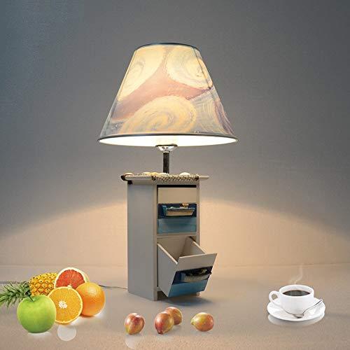 Cdeng Leuchte Tischlampe Mediterran Creative Collection Schranklampe Kinderzimmer Junge Schlafzimmer Arbeitszimmer Nachttischlampe Best Value -