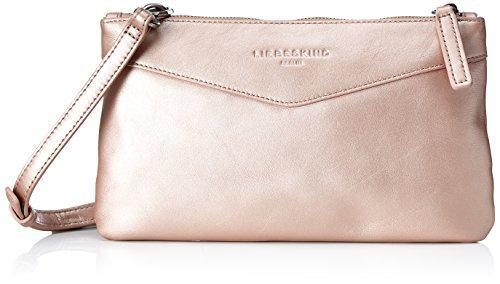 Liebeskind Berlin Damen Cecily Pearl Umhängetasche, Pink (Rose Gold), 2x16x28 cm (Rosa Und Gold Handtasche)