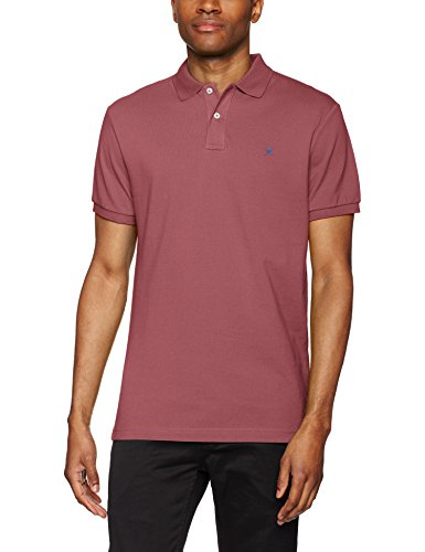 Hackett London Classic Logo, Polo para Hombre, Rojo (262 Brick), XX-Large