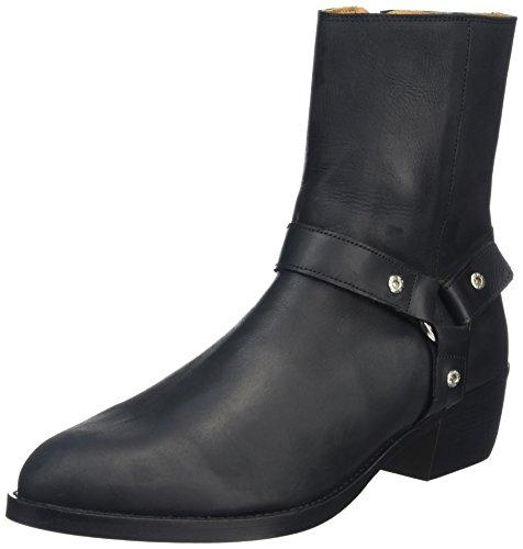 Won Hundred Shoes Harrison Strap_2, Santiags Homme Noir (noir)