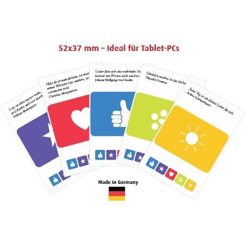 immi 5 Display-Reinigungspads für Tablet 52×36 mm mit Zeichen des Dankes