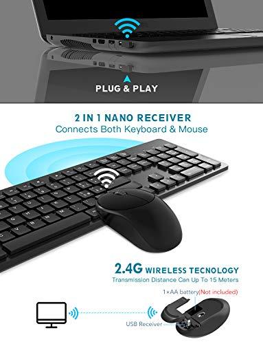 Zoom IMG-2 tedgem tastiera e mouse wireless