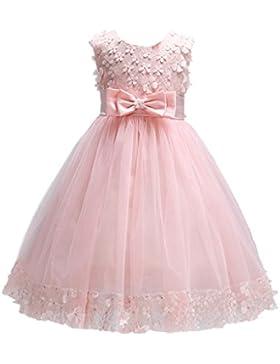 [Sponsorizzato]WOLFTEETH Fiore Ragazze Abito Maniche Principessa Compleanno Festa Matrimonio Sera Vestito
