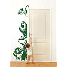 Adesivi Creativi Wall Sticker Bambini Dinosauri affacciati Adhésif autocollant pour les murs, décoration murale Dimensions 61 X 220 cm