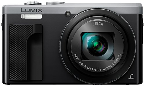 Panasonic Lumix DMC-TZ80EG-S Fotocamera, 18,1MP, Zoom Ottico 30x Post Focus, 4K Photo & 4K Video, Argento