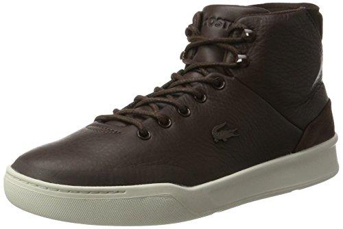 Lacoste Explorateur Classique Mid, Sneaker Uomo Marrone (dk Brw)