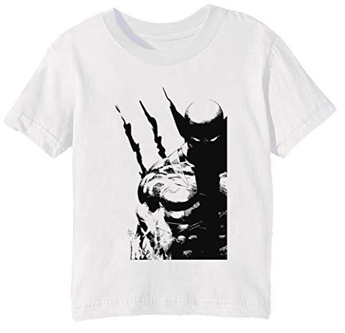 Los Mejor A Qué Yo Hacer Niños Unisexo Niño Niña Camiseta Cuello Redondo Blanco Manga Corta Tamaño 3XS Kids Boys Girls T-Shirt XXX-Small Size 3XS