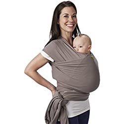 Boba Wrap - Fular portabebés, color gris