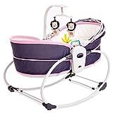 SOAR Babyschaukel schaukeln Baby Bouncer, Neugeborenes Baby-Schaukelstuhl, Baby Cradle Bed Automatische Comfort vibrierende Krippe Bett Tragbare Babywanne, Gleiten Schaukel Liegende Basket
