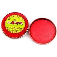 Aofocy Material de oficina Estante para sellos Akamatsu sello rojo sello cepillo