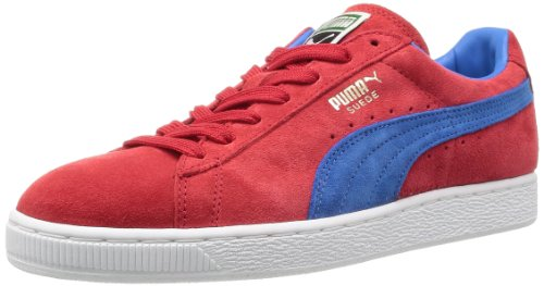 Puma , Bas mixte adulte Rouge (High Risk Red/French Blue)