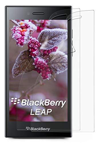 2X BlackBerry Leap | Schutzfolie Matt Bildschirm Schutz [Anti-Reflex] Screen Protector Fingerprint Handy-Folie Matte Bildschirmschutz-Folie für BlackBerry Leap Bildschirmfolie