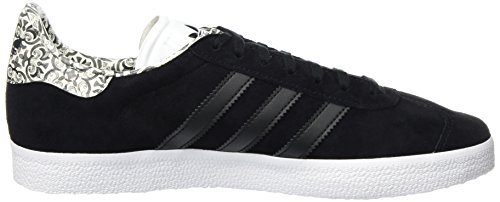adidas Damen Gazelle Sneakers Schwarz (Core Black/core Black/footwear White)