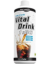 Best Body Nutrition Essential Vital Drink Weißer Tee-Pfirsich, 1er Pack (1 x 1 L)