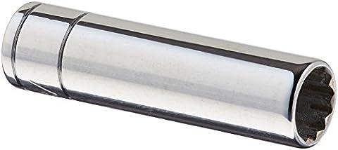 SK Hand Tool 44912 12 Point 1/4-Inch Drive Deep Socket,