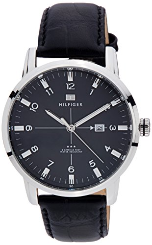 Tommy Hilfiger Analog Black Dial Men's Watch - TH1710330J