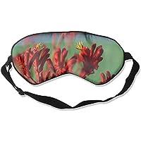 Red Kangaroo Paw Plant 99% Eyeshade Blinders Sleeping Eye Patch Eye Mask Blindfold For Travel Insomnia Meditation preisvergleich bei billige-tabletten.eu