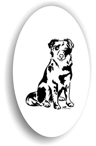 Tiger Altdeutscher Hütehund Hunde Sticker Auto Aufkleber Art.ST0255 , Autoaufkleber Wohnmobil...