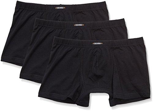 Ceceba Herren Retroshorts Pants 3er Pack Schwarz (black 9000)