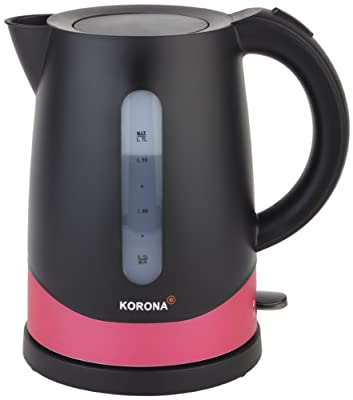 Korona 2050217 Bouilloire Électronique avec Système d'Arrêt de Vapeur