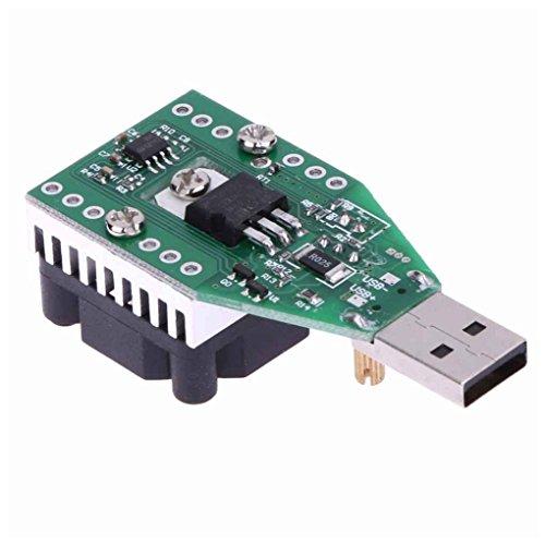 Werkzeuge 15 Watt USB Lastwiderstand DC 3,7-13 V Einstellbare Konstantstrom Elektronische Lastentlader Batterie Kapazit?t Test Meter mit L¨¹fter censhaorme
