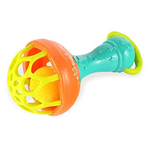 Mano bebé paquete campana goma suave bola caliente