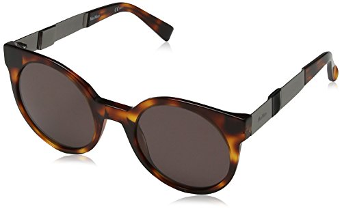 Max Mara Damen MM COSY 9O 807 56 Sonnenbrille, Black/Grey,
