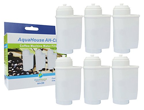 Price comparison product image 6x AH-CBI Compatible for Brita Intenza Water Filter for Bosch Neff Siemens Gaggenau Coffee Machines TZ70003 TCZ7003 467873 575491
