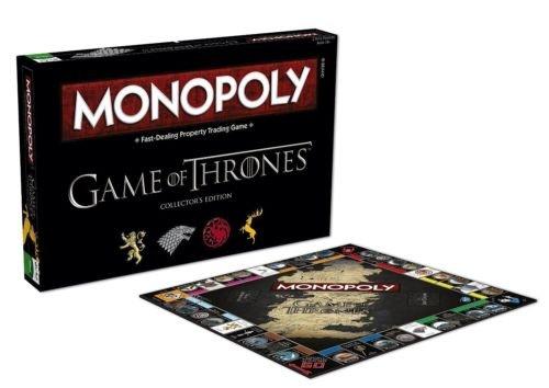 Preisvergleich Produktbild Monopoly: Game of Thrones Collector's Edition Board Game