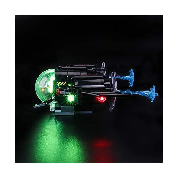 BRIKSMAX Kit di Illuminazione a LED per Lego Super Heroes Batsub di Batman e Il duello Sottomarino,Compatibile con Il… 3 spesavip