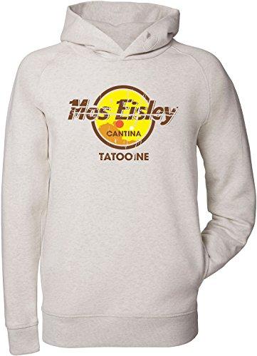 EZYshirt® Mos Eisley Tatooine Bio Baumwolle Herren Hoodie | Herren Kapuzenpullover